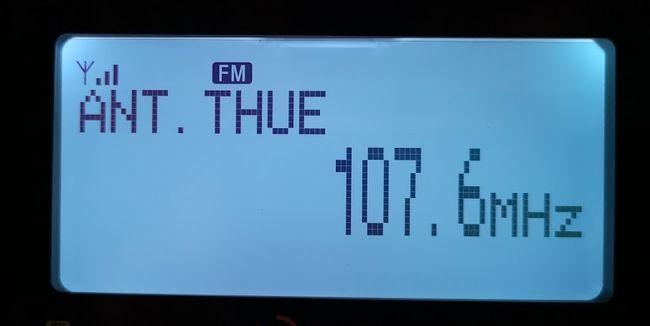 Antenne Thüringen 107,6 MHz