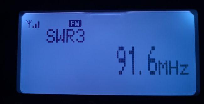 SWR3 91,6 MHz