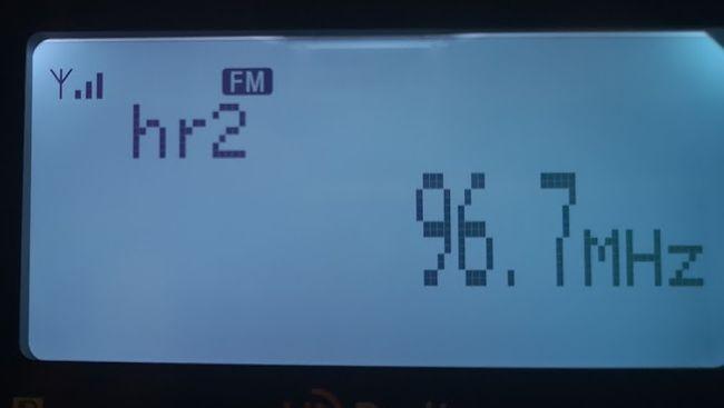 hr2 96,7 MHz