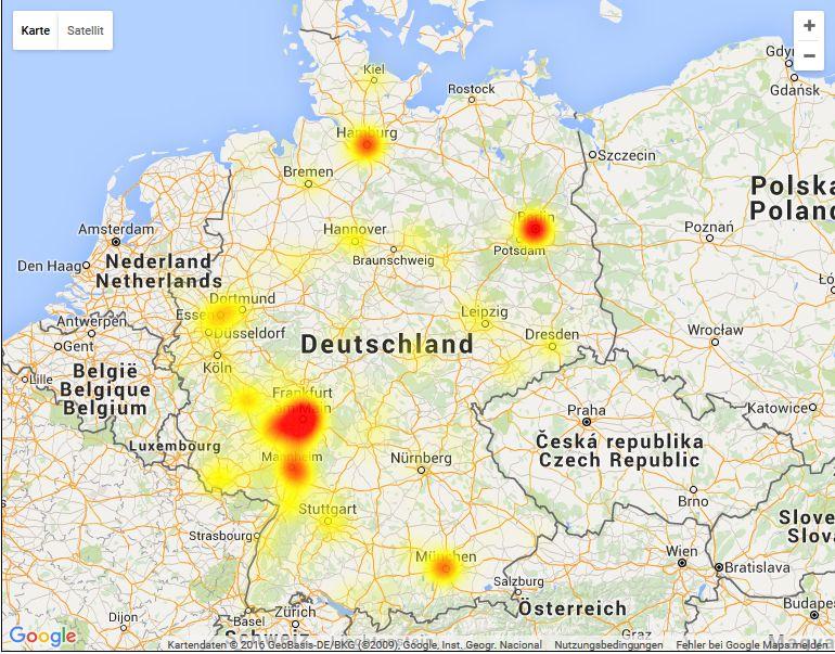 Vodafone-Störung