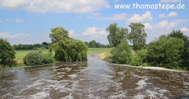 Hochwasser bei Hespe