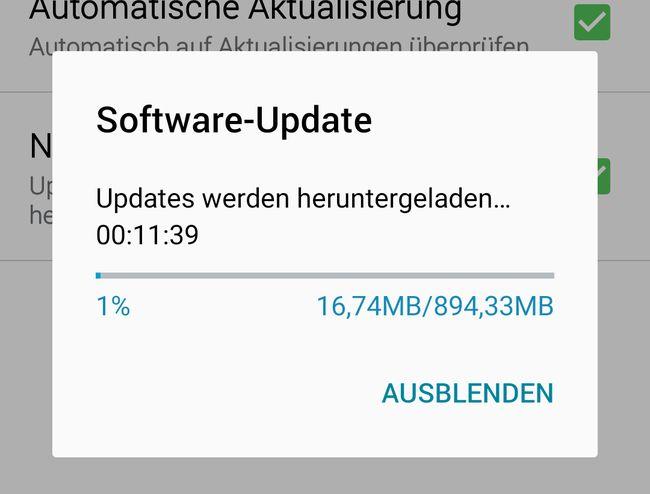 Update auf Android 6