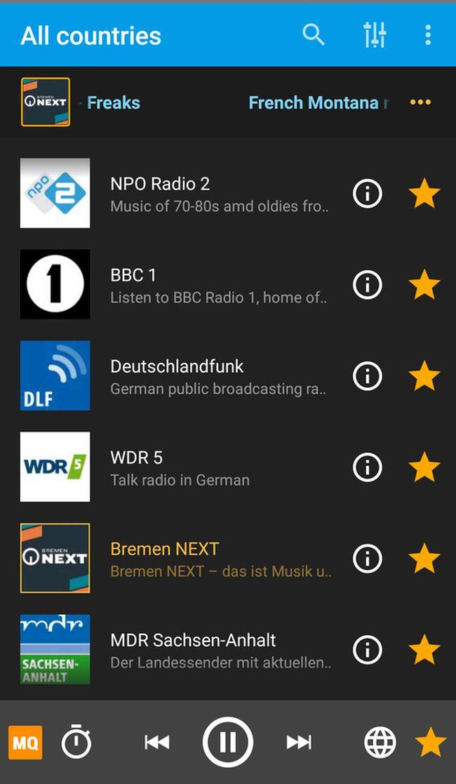 Mobiles Webradio
