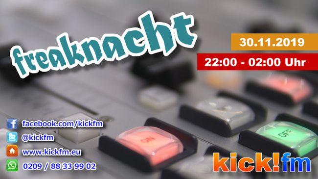kick!fm Freaknacht 30.11.2019