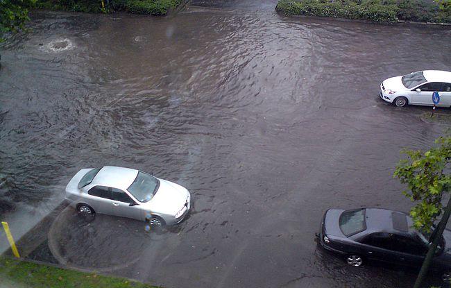 Überschwemmung in Osnabrück